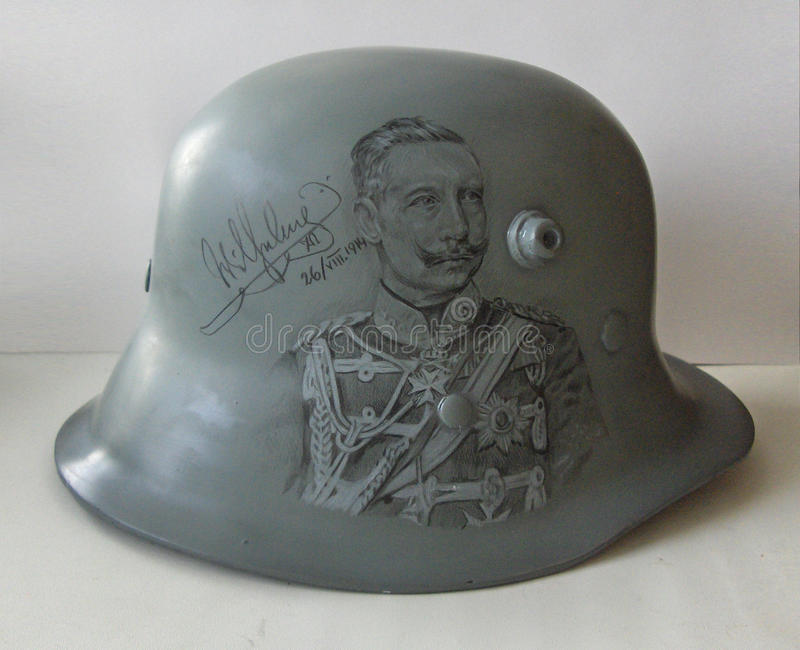 M17 helmet. Drawing. stock images