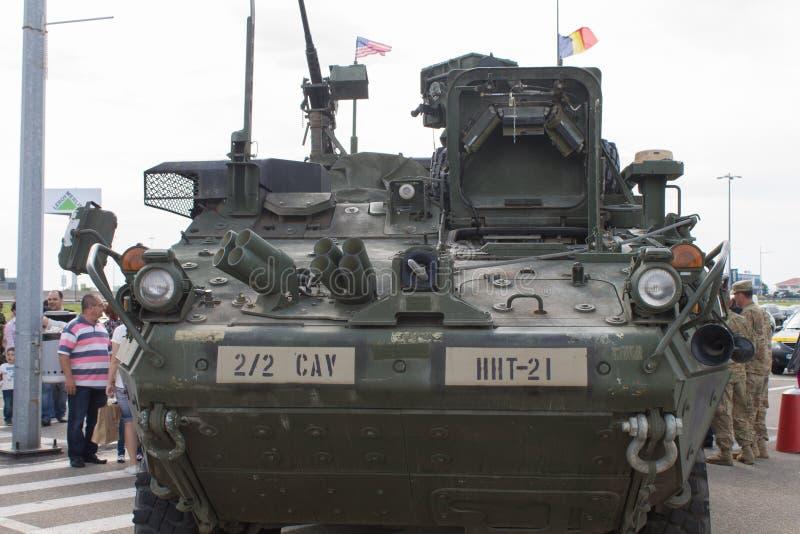 M1126 het Voertuig van de Infanteriedrager stock afbeeldingen