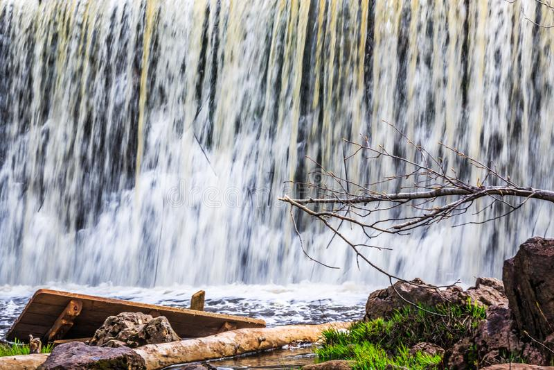 M?hlnebenfluss-Nationalpark, gr??eres Moncton, New-Brunswick, Kanada stockfotos