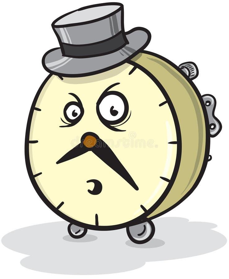 M. horloge illustration libre de droits