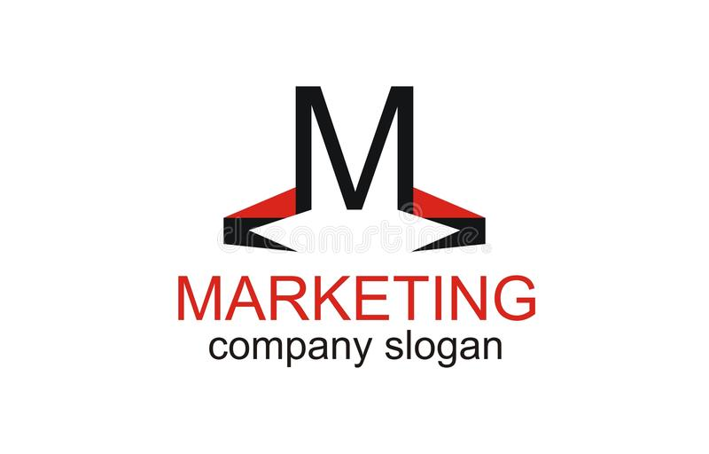 M - Insignia de la comercialización libre illustration