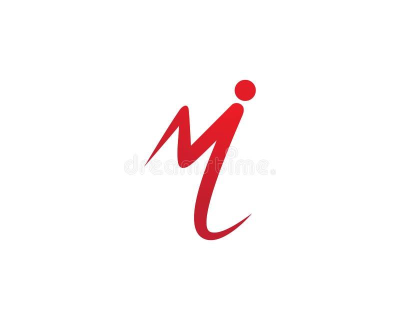 M Letter Logo Business libre illustration