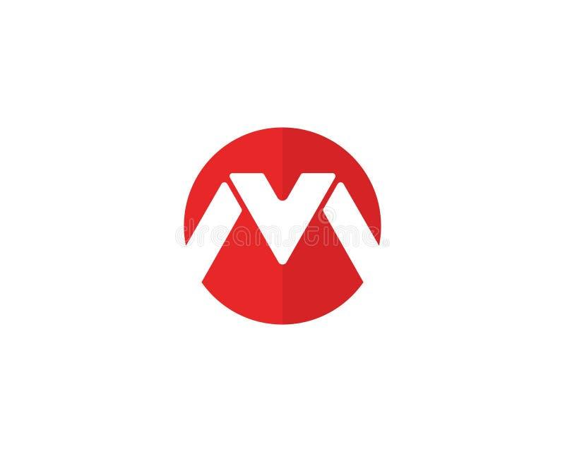 M Letter Logo Template stock illustration