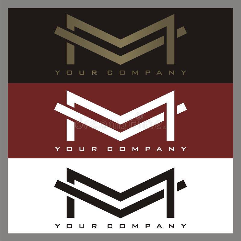 M-Logo vektor abbildung