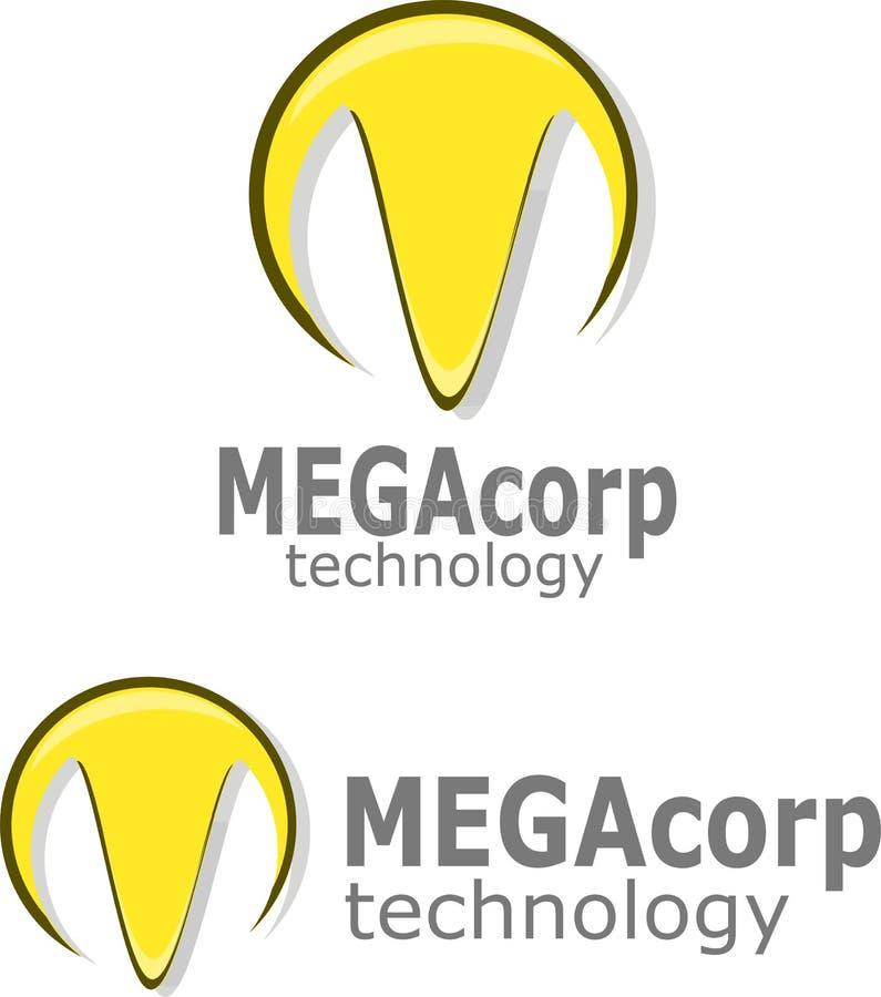 M. Logo Vector fotografia stock libera da diritti