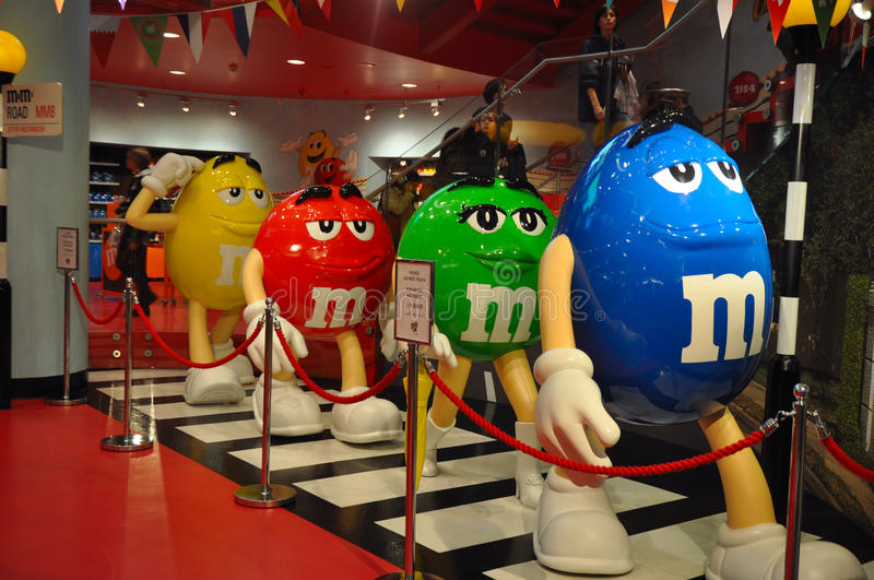 Download M&M's Walking Like The Beatles Editorial Stock Photo - Image: 25666783
