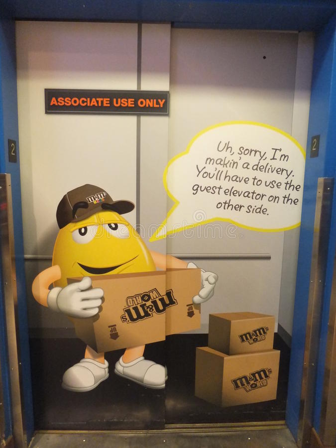 Free M&M S World In New York Stock Photography - 24341762