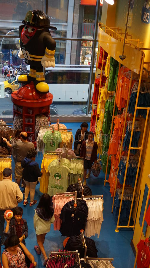 Free M&M S World In New York Royalty Free Stock Photo - 57090405