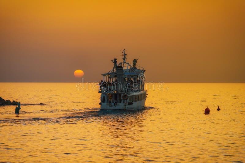 M?me le vieux port de Jaffa au coucher du soleil du jour T?l?phone Aviv Yafo Israel photographie stock libre de droits