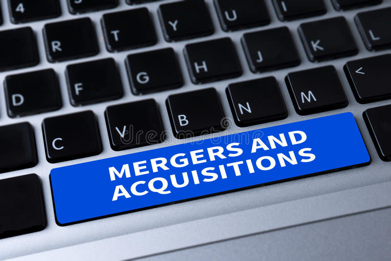 M&A (MERGERS AND ACQUISITIONS) royalty free stock photos