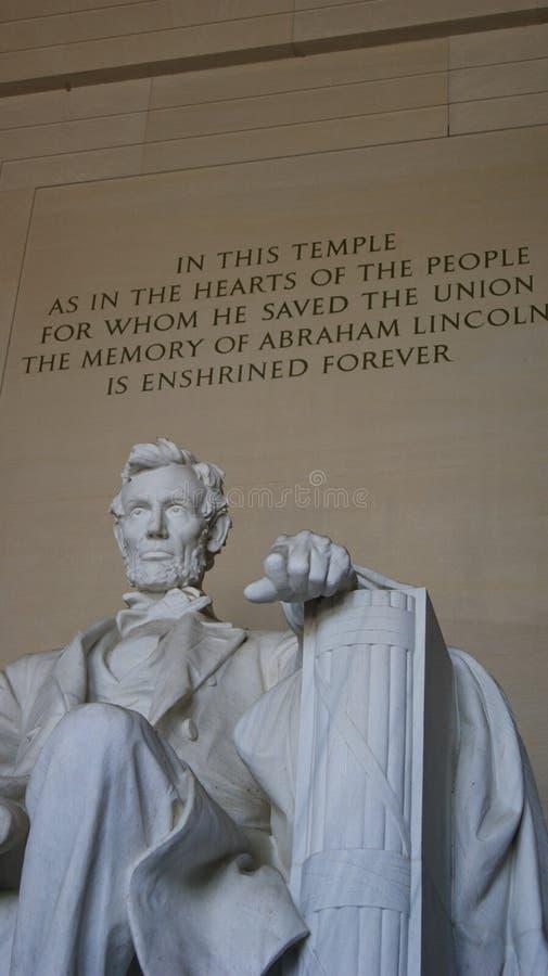 M?morial de Lincoln dans le Washington DC photographie stock libre de droits