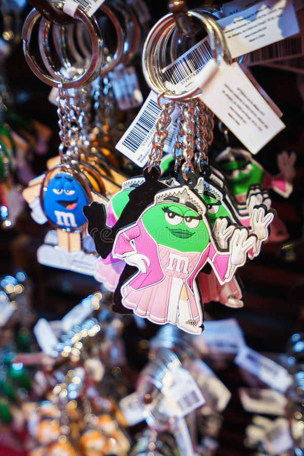 M&Ms World store royalty free stock photography