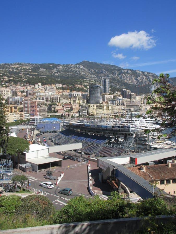 Mônaco Prix grande imagens de stock royalty free