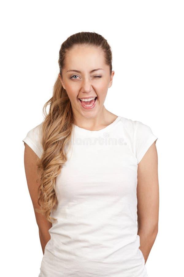 Download Młoda atrakcyjna blondynka obraz stock. Obraz złożonej z twarz - 29458637