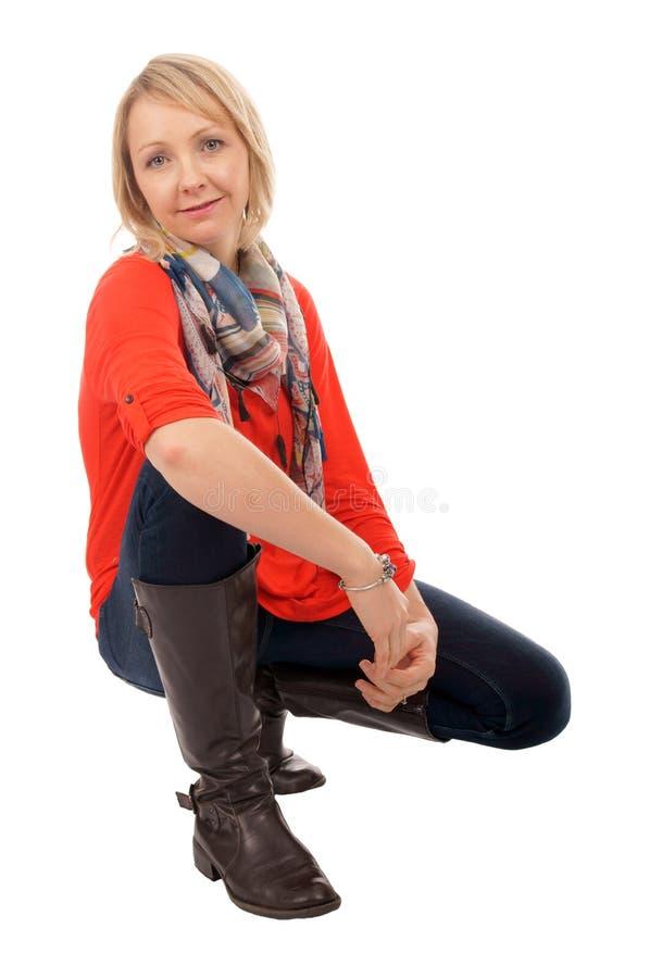 Download Młoda Kobieta obraz stock. Obraz złożonej z śmiech, szczęście - 28968175