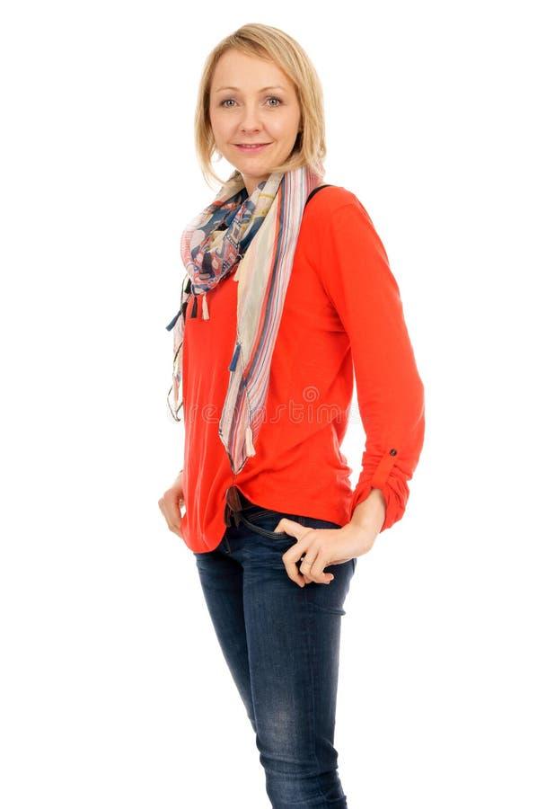 Download Młoda Kobieta zdjęcie stock. Obraz złożonej z atrakcyjny - 28968238