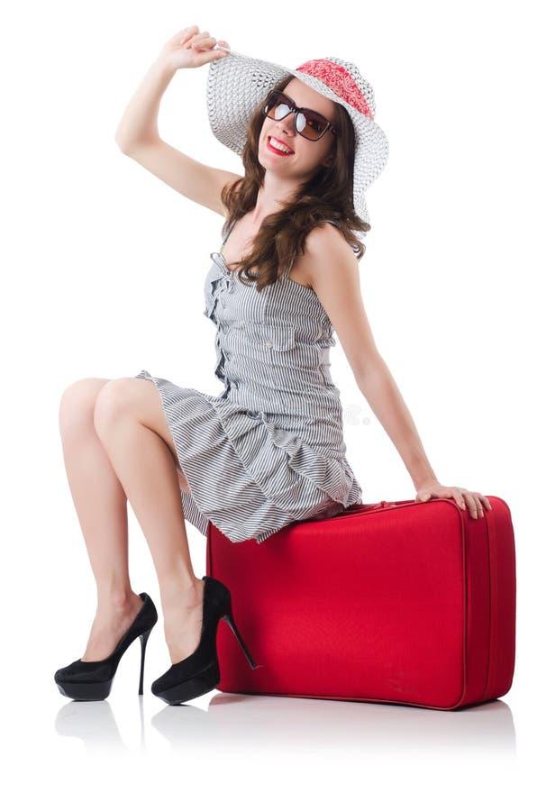 Download Młoda kobieta obraz stock. Obraz złożonej z dorosły, lato - 32813237