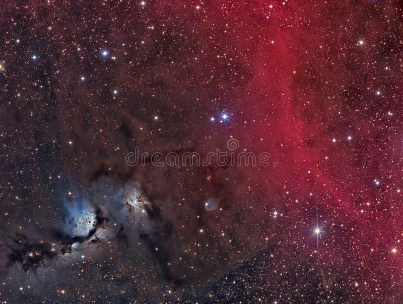 M78 odbicia mgławica zdjęcia royalty free