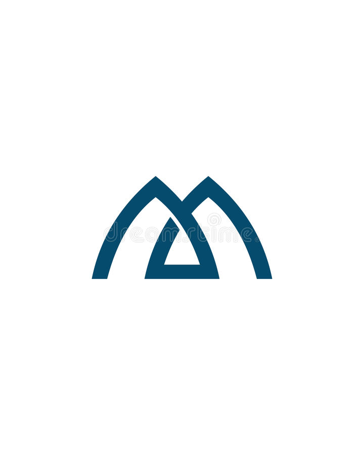 Free M Or MA Initial Icon 2 Financial Business Insurance Abstract Royalty Free Stock Image - 80005266