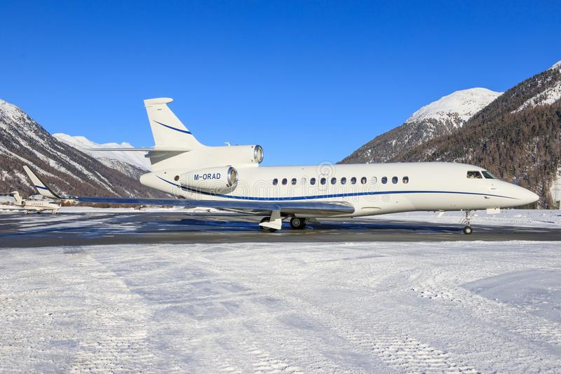 M-ORAD | Dassault Falcon 7X | Private | James Mepsted stock photos