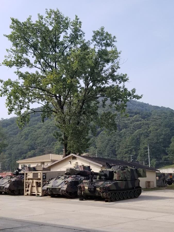 M109A6 Paladin Südkorea lizenzfreie stockfotografie