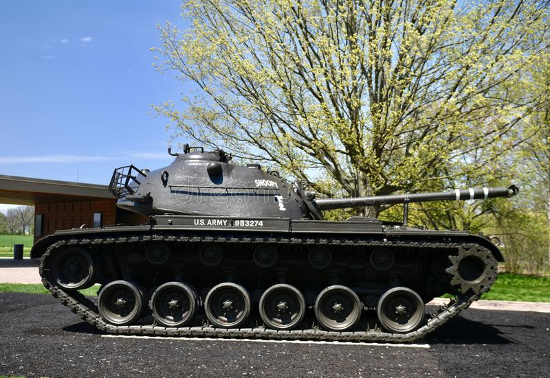 M 48 Patton royaltyfri bild