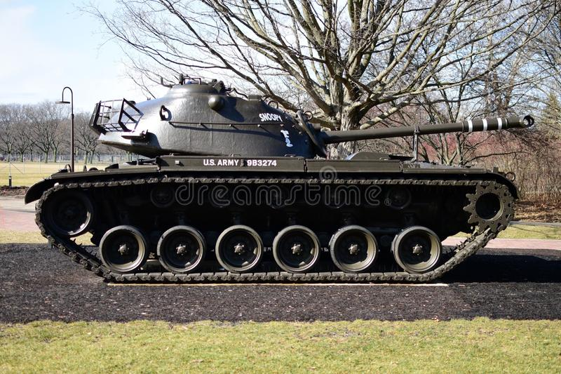 M48 Patton Tank fotografia stock