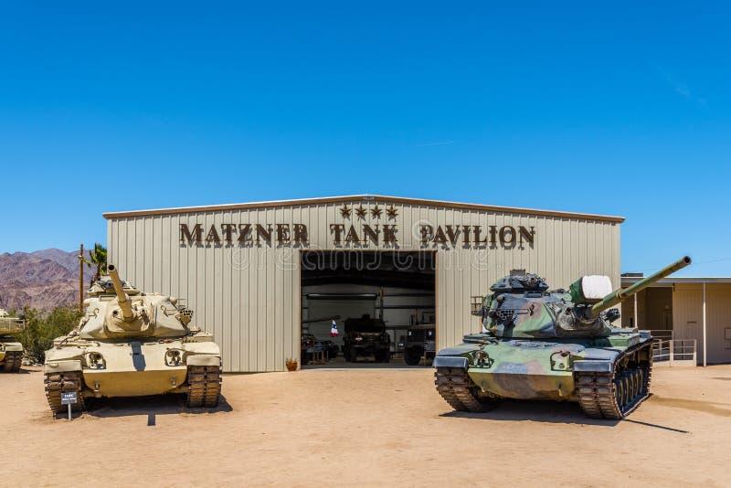 M60 Patton Tanks imagens de stock