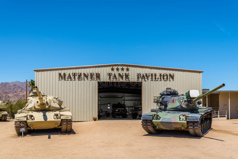 M60 Patton Tanks stock images