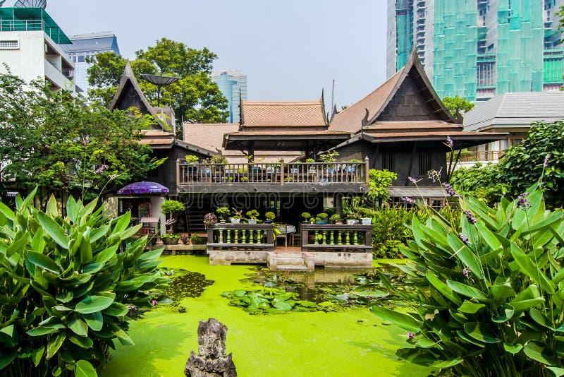 M r Het Huis van de Kukrit'serfenis in Bangkok royalty-vrije stock afbeeldingen