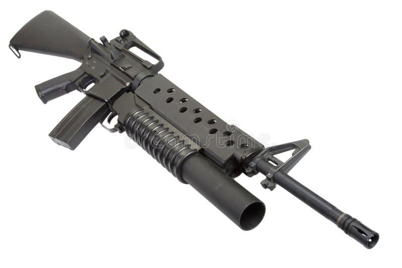 An M16A4 Rifle Equippe...