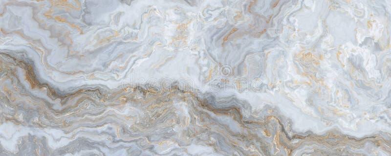 M?rmore encaracolado branco ilustração stock
