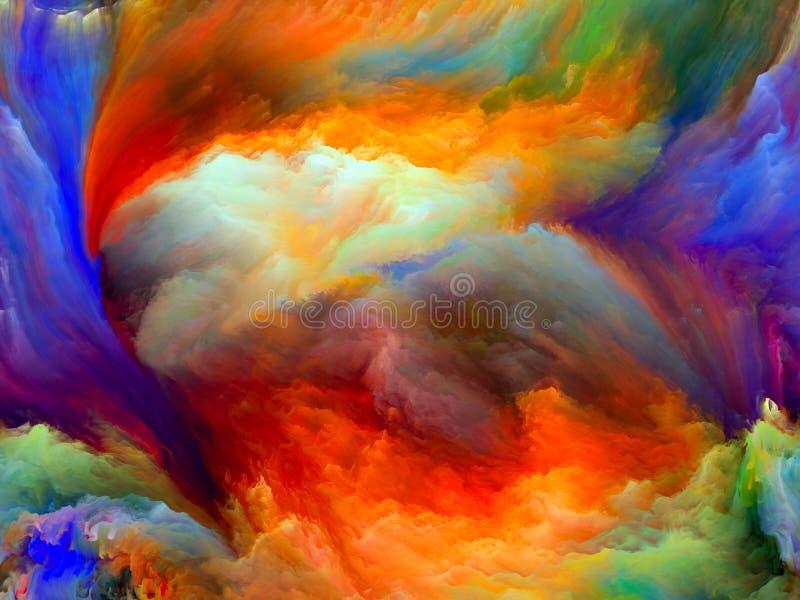 M?s all? del movimiento del color libre illustration