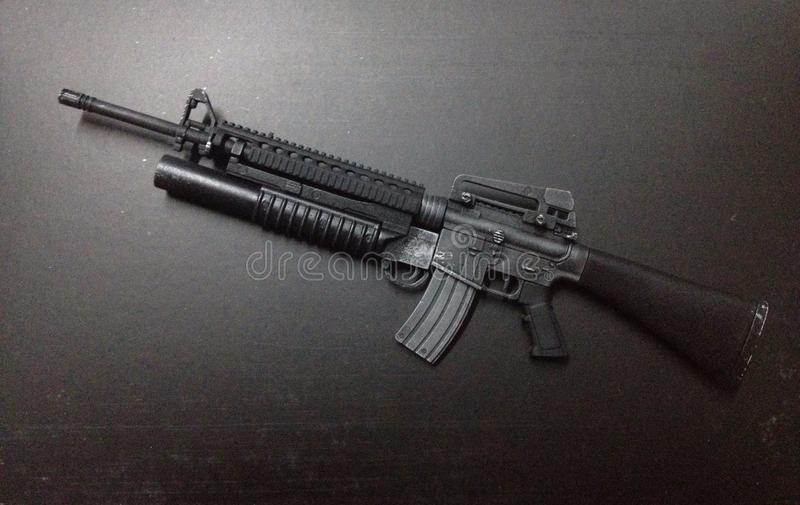 M16A4 Scale1/ obrazy royalty free