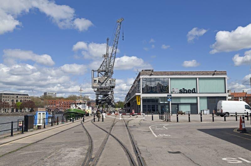M Shed Museum, Bristol, Reino Unido imagem de stock royalty free
