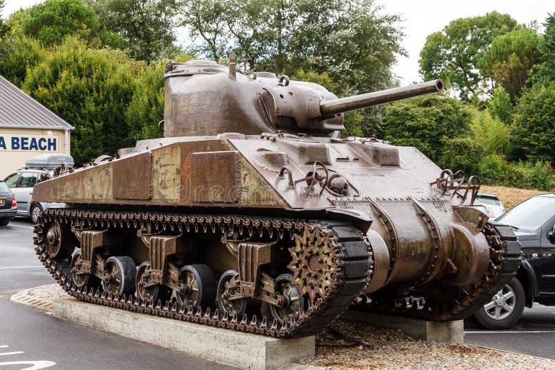 M4 Sherman Tank arkivfoton