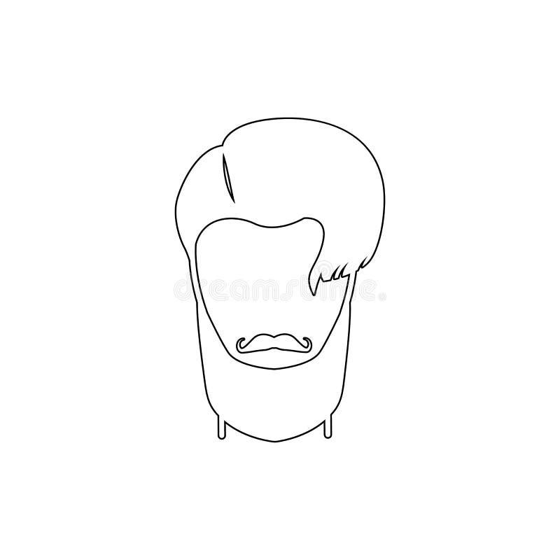 m?ska fryzury i brody ikona Element fryzur ikona Premii ilo?ci graficzny projekt Znaki, symbol inkasowa ikona dla ilustracji