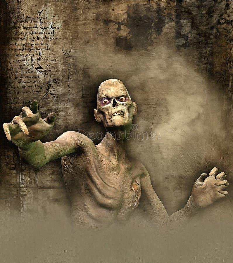M. Spooky illustration de vecteur