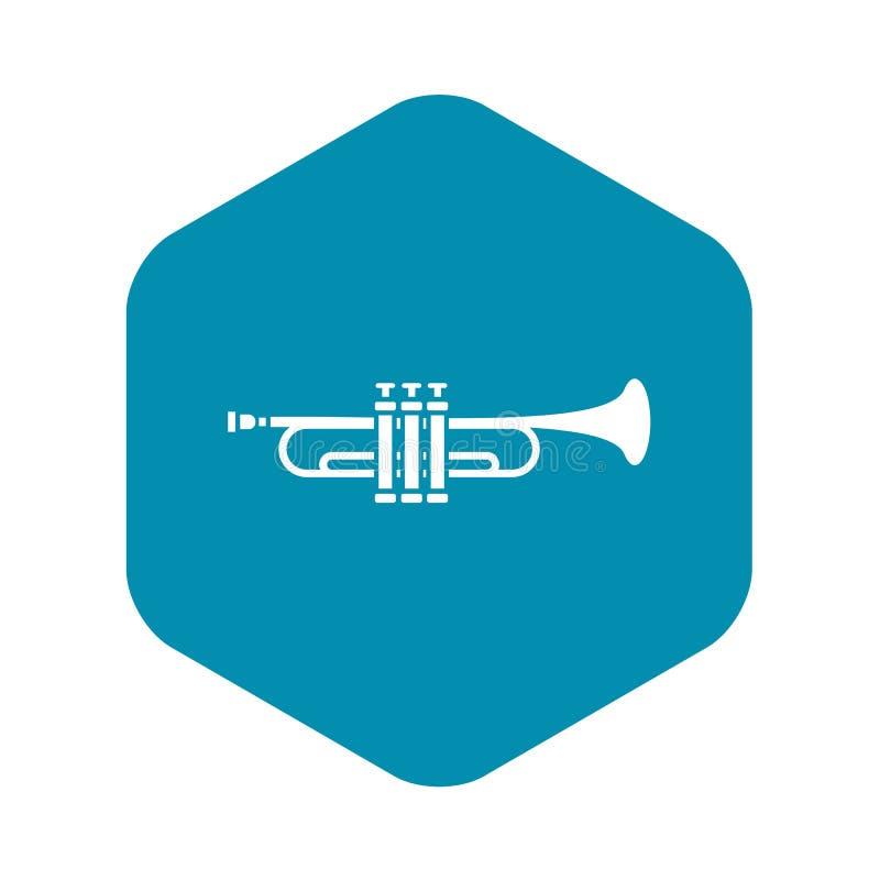 M?ssingstrumpetsymbol, enkel stil vektor illustrationer