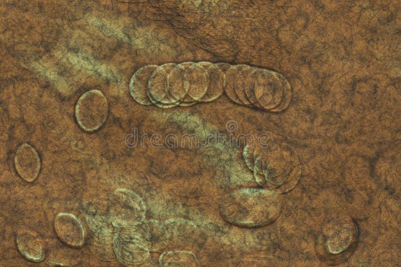 M?tal gravant l'antiquit? d'ornement, d?coration d'art illustration de vecteur