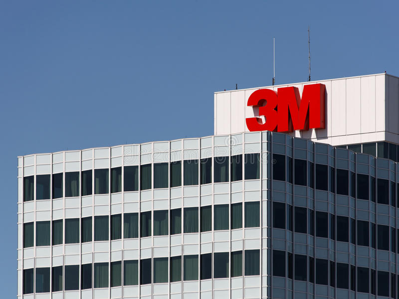 3M World Headquarters royalty free stock photo