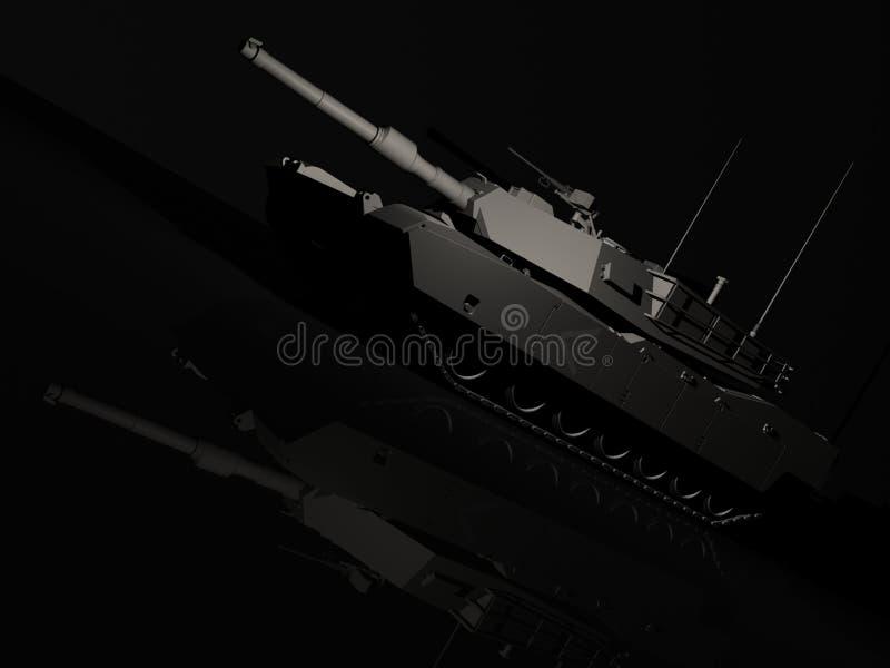 M1 de Tank van Albrams stock fotografie