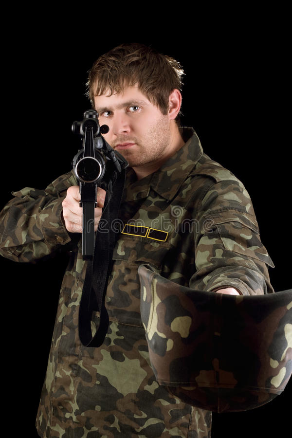 M16 ζητήστε να είστε γενναιόδωρος στοκ φωτογραφίες