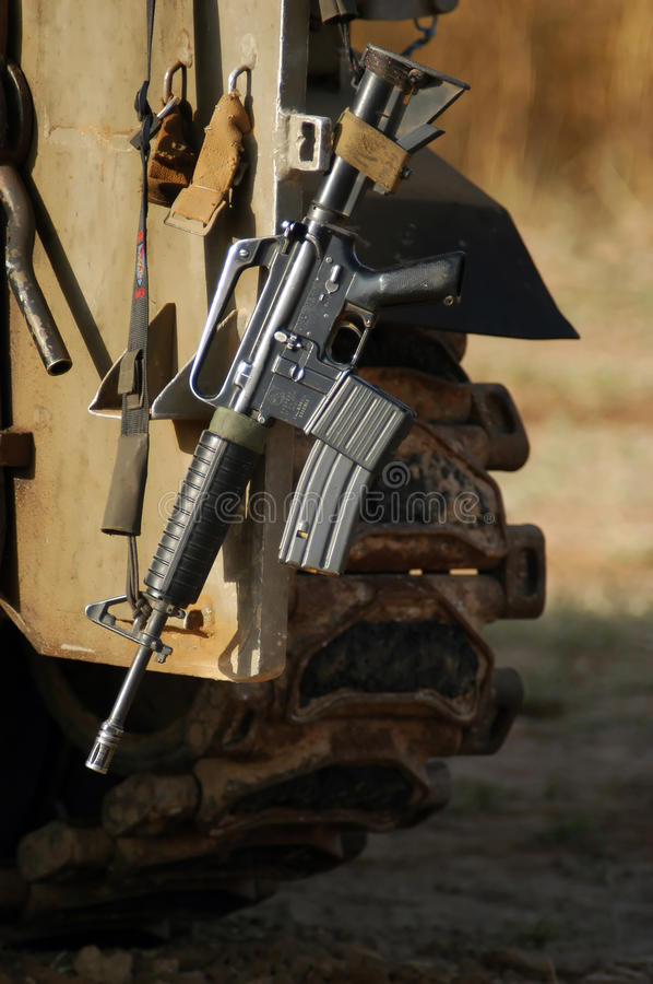 M16 Israel Army Rifle royalty free stock images