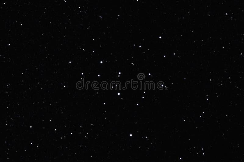 m39更加杂乱的starfield 免版税库存图片