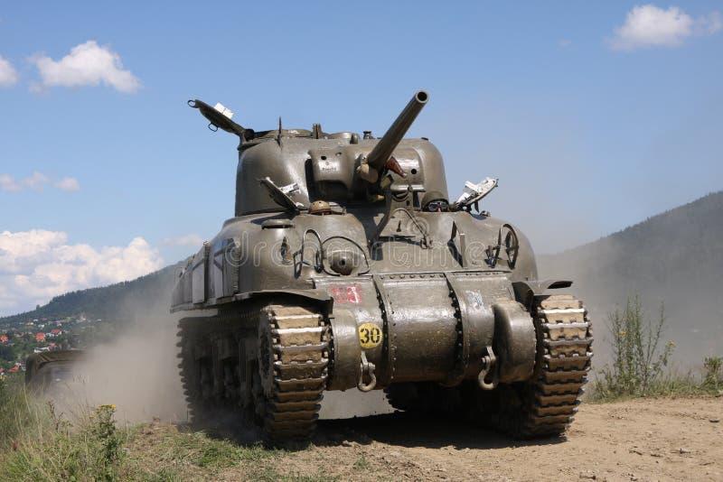 M4A1 de Tank âWW II van Sherman royalty-vrije stock afbeelding