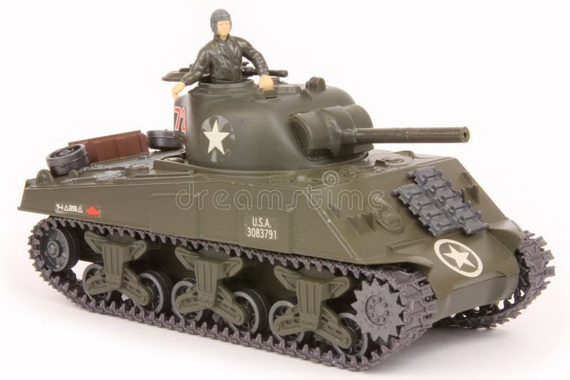 M4A3 Sherman Tank Royalty Free Stock Images