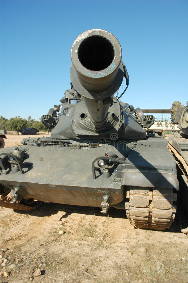 m60坦克 免版税库存照片