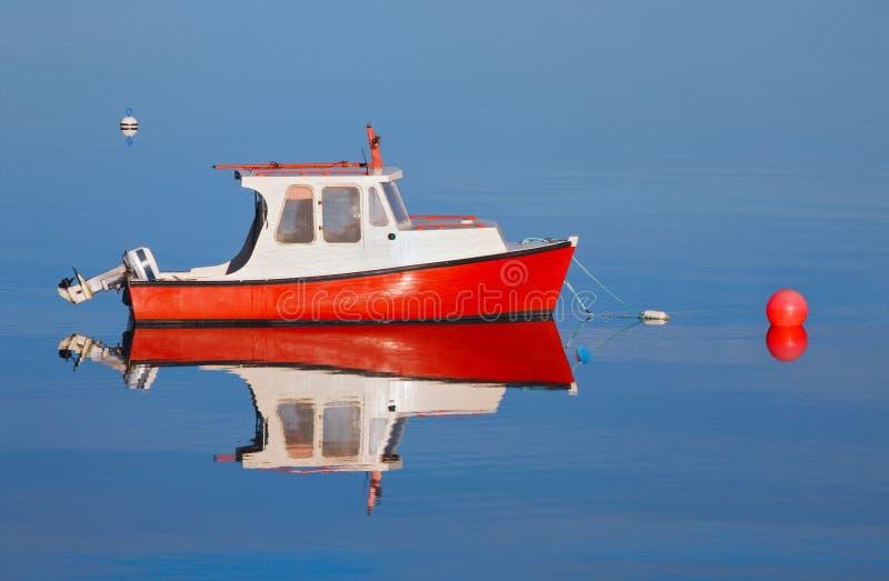 małe drewniane łódki zdjęcie stock