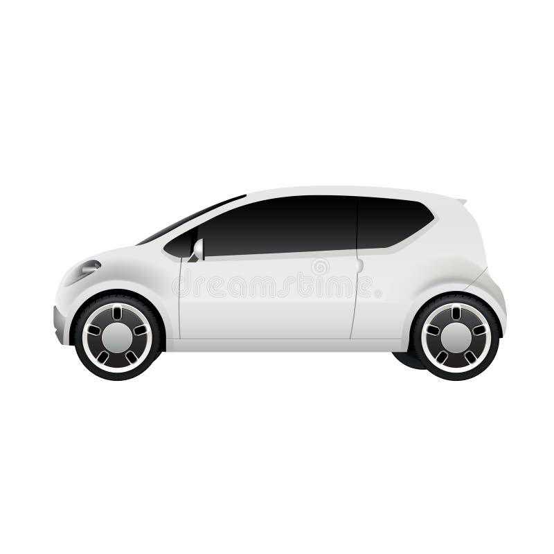 Mały Elektryczny miasto samochód ilustracji
